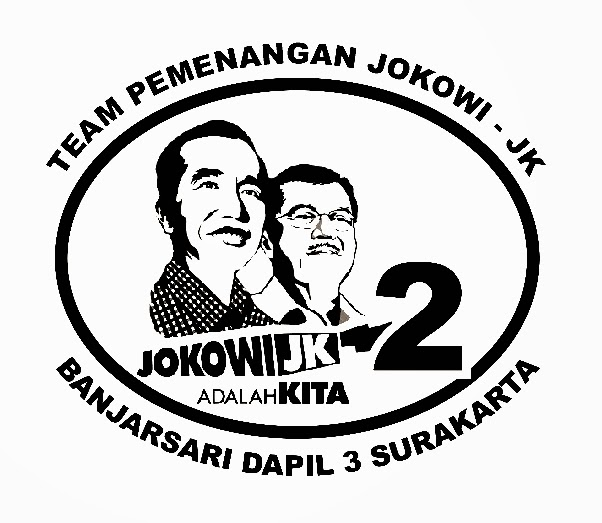 Contoh Cap Design Stempel Team Pemenangan Jokowi