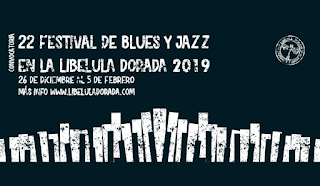 Convocatoria Festival de Blues y Jazz Libélula (2019)