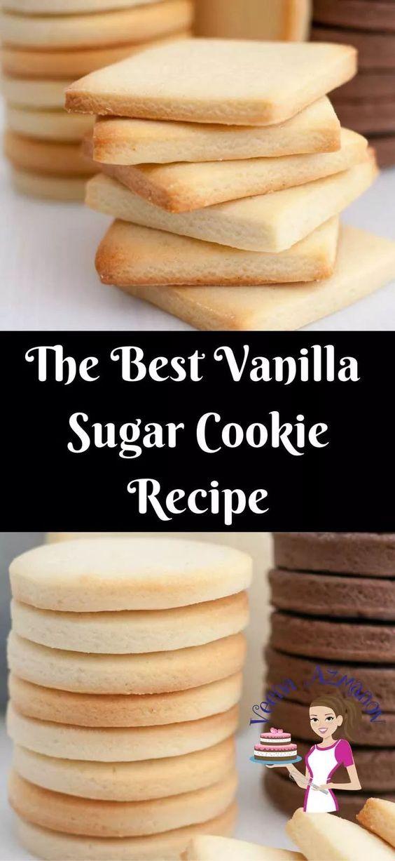 The Best Vânillâ Sugâr Cookie Recipe