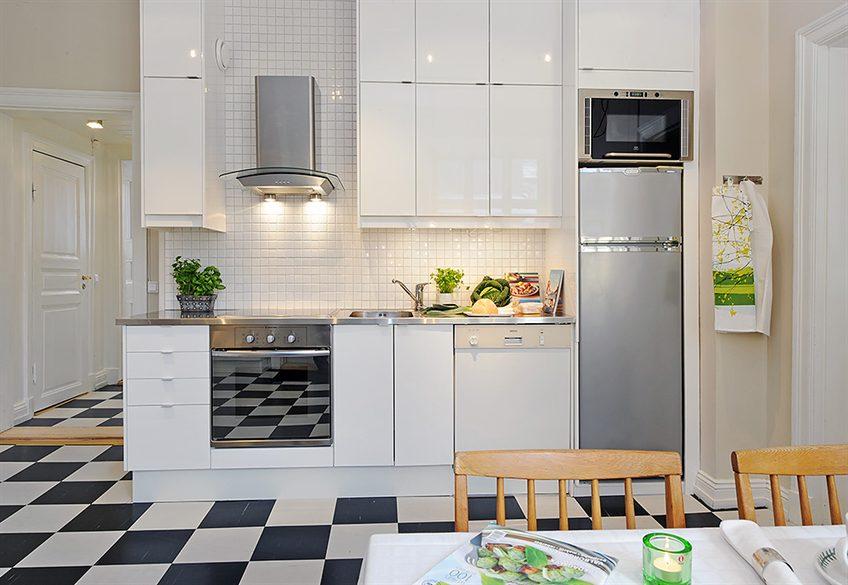 Decotips distribuir la cocina seg n su geometr a for Cocinas completas con electrodomesticos