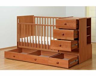 Кроватка для новорожденного с комодом