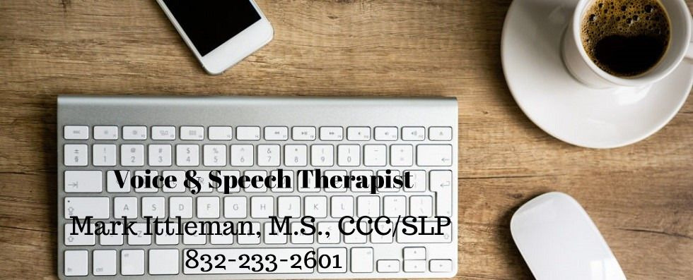 Voice Therapy for Speaking