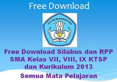 Free Download Silabus Dan Rpp Sma Kelas X Xii Xii Ktsp Dan Kurikulum 2013 Bingkaiguru