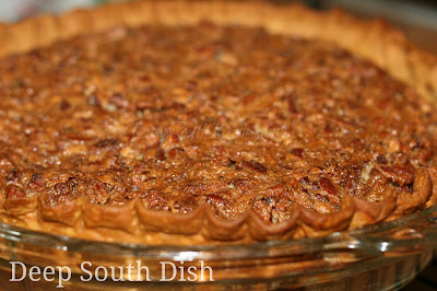 Deep South Dish Classic Old Fashioned Southern Pecan Pie