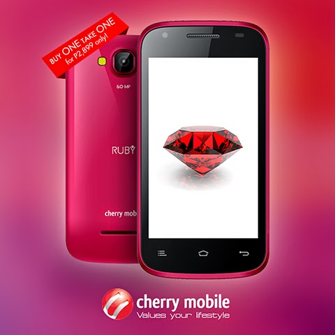 Two Cherry Mobile Ruby for only Php2,899