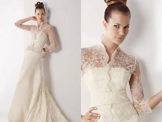 modelo de vestido de noiva bege - dicas e fotos
