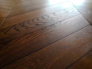 Tarima de madera aceitada