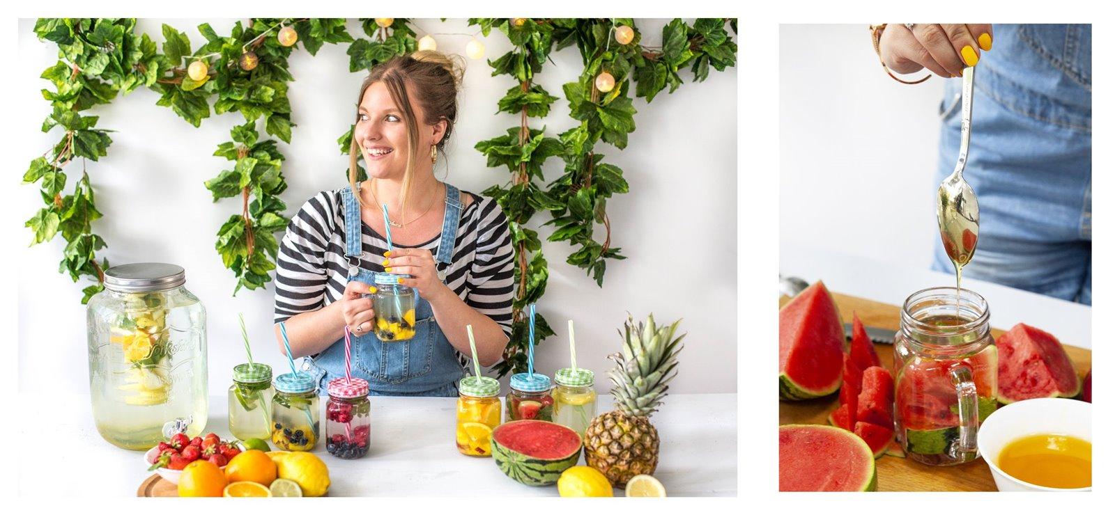 4 owoce sezon na lemoniadę browin jak zrobić pyszne napoje deser pomysły na przekąski na urodziny wakacje przyjęcie lato słoiki duży słój z kranem na lemoniadę słoiki ze słomką z uchem sklep gdzie kupić łódź