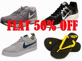 Nike Footwear – Min 50% OFF starts Rs.717 – Amazon