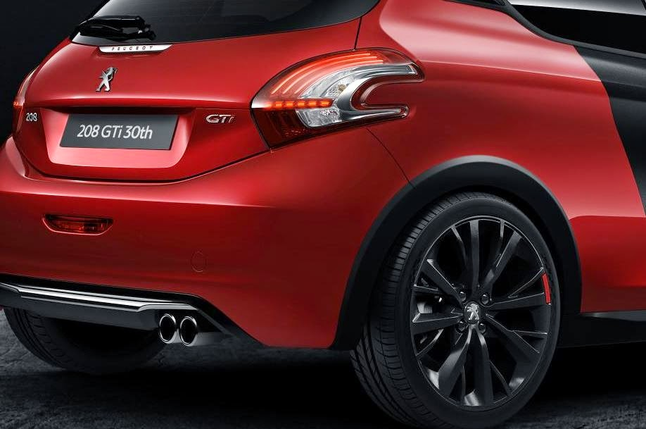 peugeot sport reveals the 208 gti 30th anniversary limited edition motor lovers. Black Bedroom Furniture Sets. Home Design Ideas