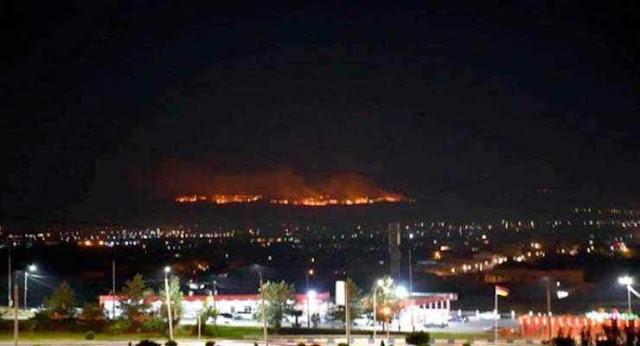 Incendio en el Monte Ararat no representa amenaza para Armenia