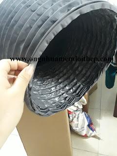 www.123nhanh.com: ống gió mềm vải nhựa lò xo co giãn vải simili phi .*$..