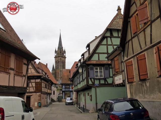 Dambach le Ville, Alsacia, Francia