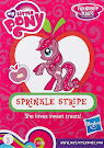 My Little Pony Wave 13B Sprinkle Stripe Blind Bag Card