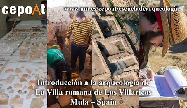 Curso: Villa Romana de Los Villaricos – Mula – España (9 al 23 de julio 2017)