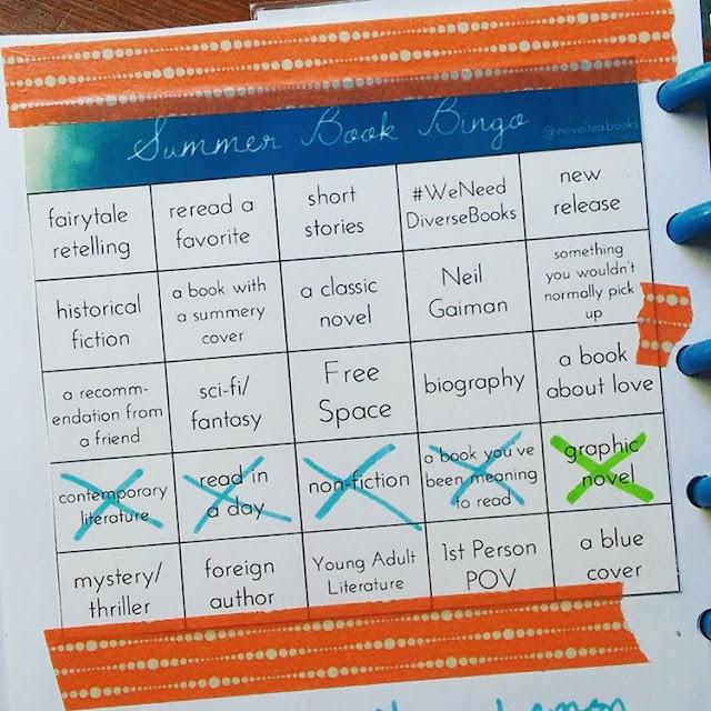 Summer Book Bingo