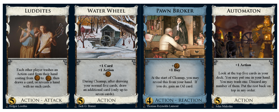 Luddites, Water Wheel, Pawn Broker, & Automaton fixes.