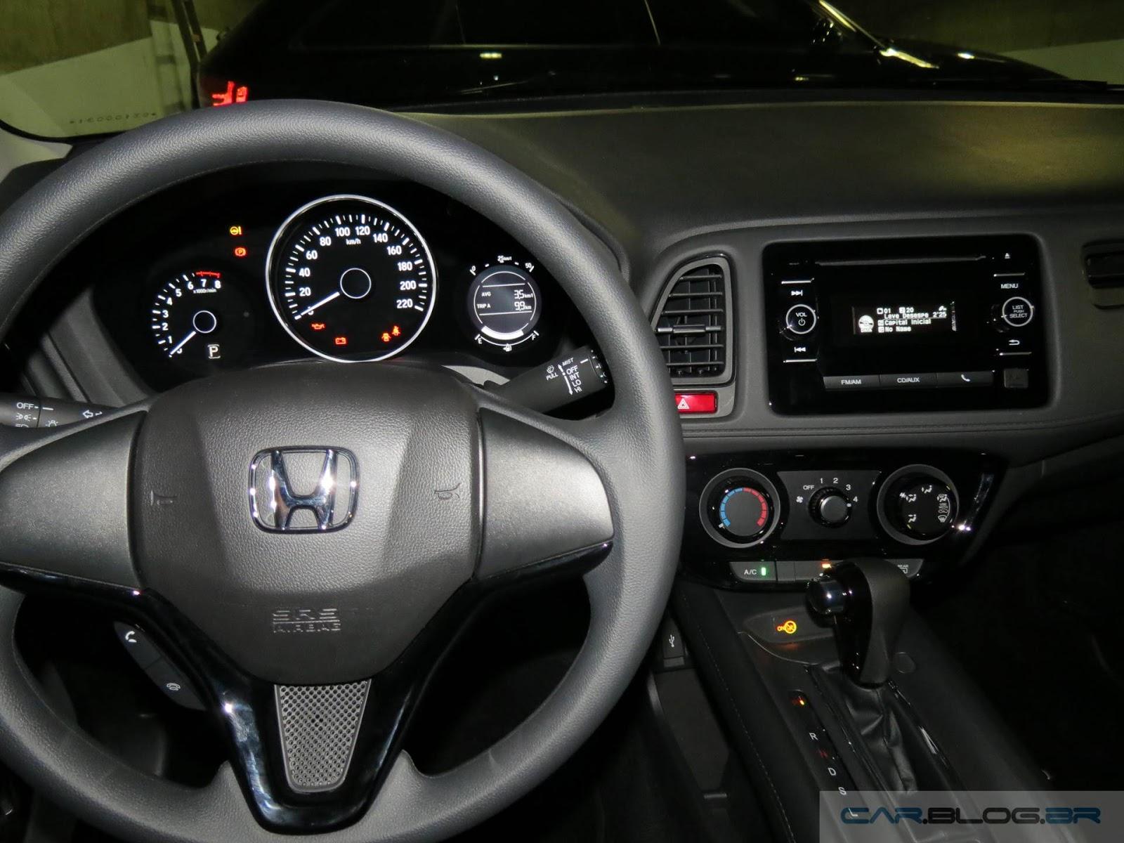 Honda HR-V EX (versão intermediária): vídeo e detalhes ...
