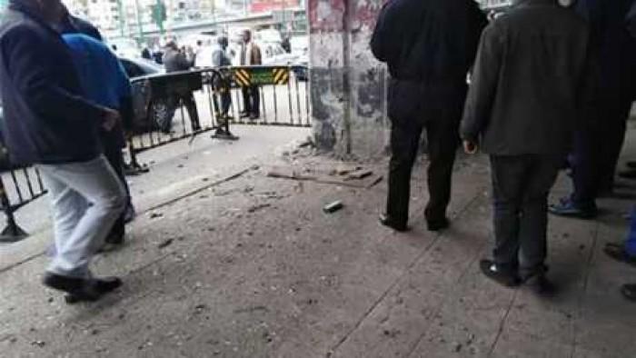 اول تصريح امني يكشف فيه تفاصيل انفجار قنبله اسفل كوبري الجيزة