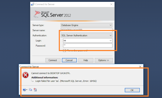 Enable Sql Server Authentication Mode And User Login