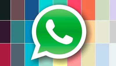 Cara Membuat Tulisan Pesan Whatsapp Menjadi Biru atau Warna Warni