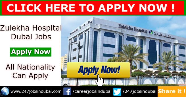 Latest Zulekha Hospital Dubai Jobs Vacancies and Careers