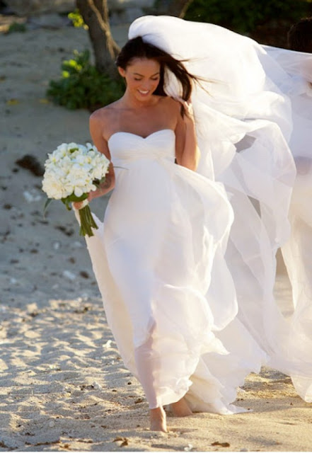 The Best Beach Casual Wedding Dress Megan Fox Style