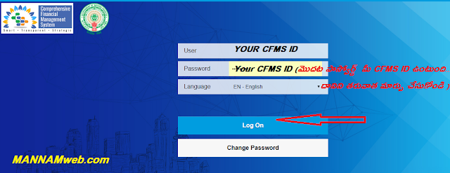 KNOW YOUR CFMS SALARY CREDIT STATEMENT WITH BILL ID   STEPS TO DOWNLOAD YOUR CFMS SALARY CREDIT STATEMENT AND BILL ID