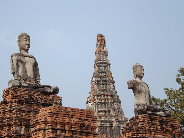 Wat chaiwatthanaram, temple Thaïlande, Ayutthaya, location vélo, guesthouse