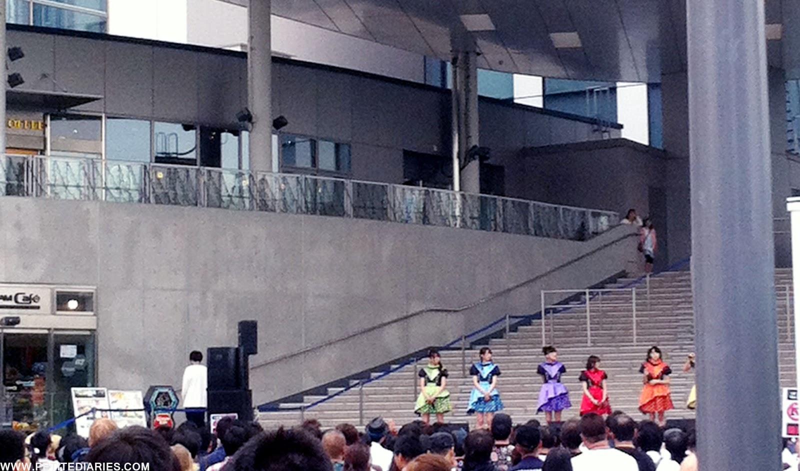 concert tokyo girls odaiba