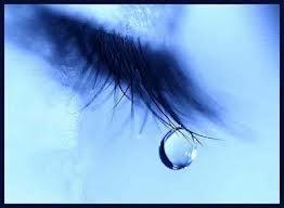 Reflexión lágrimas de mujer