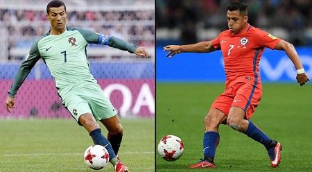 Assistir Portugal x Chile AO VIVO 29/06/2017 -