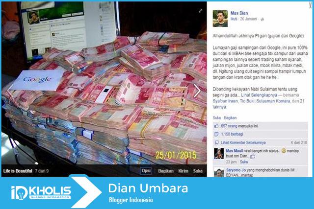 Dian-umbara-blogger-indonesia-terkaya