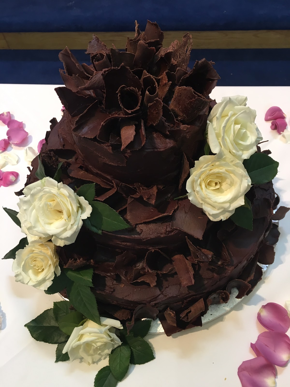 Best Ever Holy Cow Amazing Chocolate Wedding Cake Northern VA DC