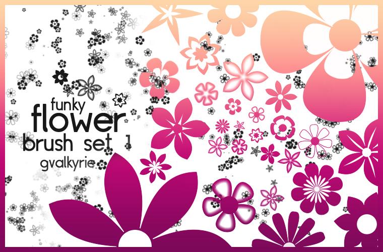 10 Brush Photoshop Bunga Cantik untuk Desain Grafis