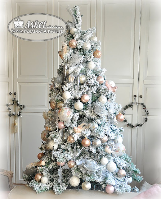 shabby chic christma tree