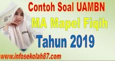 Contoh Soal dan Kunci Jawaban  UAMBN MA Mapel Fiqih 2019