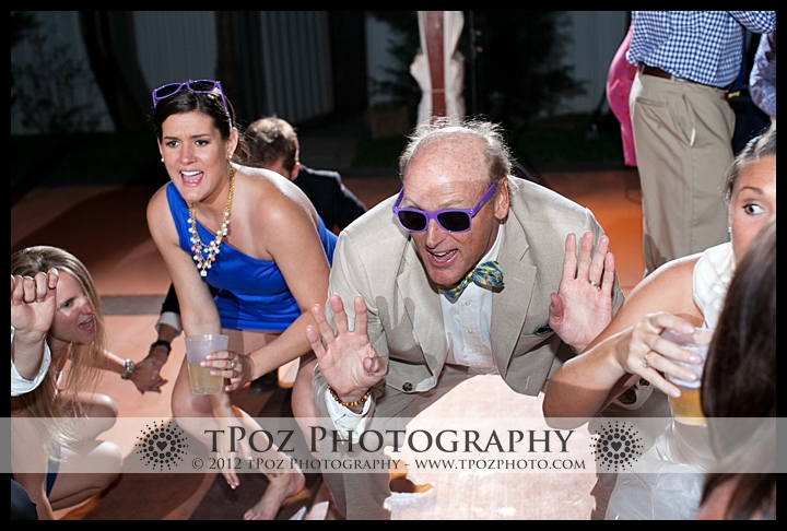 Dancing at Port Annapolis Marina Wedding Reception