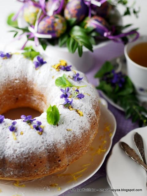 babka cytrynowa na kisielu, babeczka wielkanocna, baba na wielkanoc, cytryna, kisiel cytrynowy, wielkanocne menu, co upiec na wielkanoc, ciasto cytrynowe, domowe ciasta, ciasto na niedziele