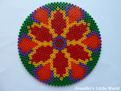 How to make Hama bead rangoli for Diwali