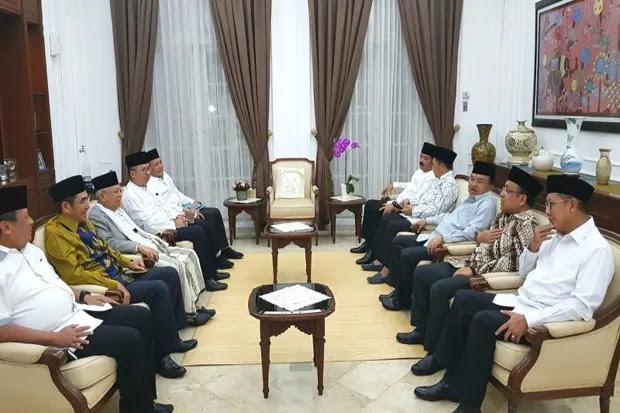 Bahas Isu Terkini, JK Gelar Pertemuan dengan Pimpinan Ormas Islam