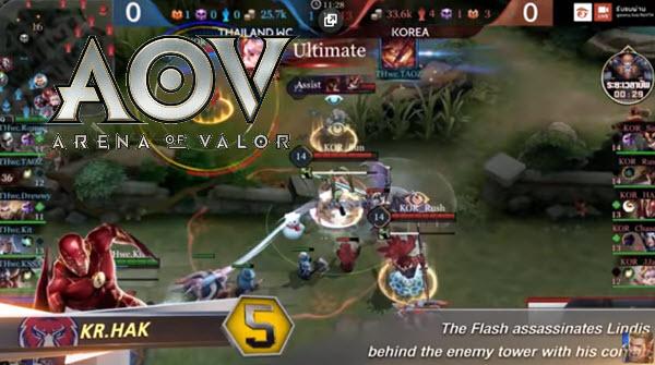 game online android gratis terbaru Arena Of Valor