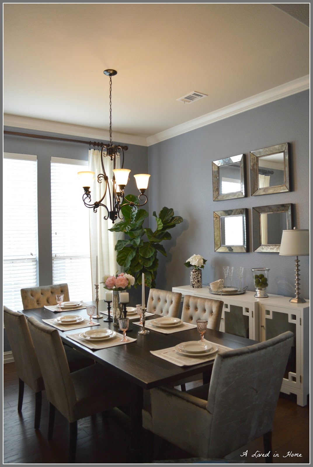 A Lived In Home: A Peek Into My Dining Room