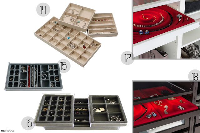 Shopping Jewelry Organizers