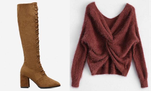 zaful fall clothing