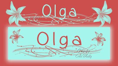 Olga -Nombres