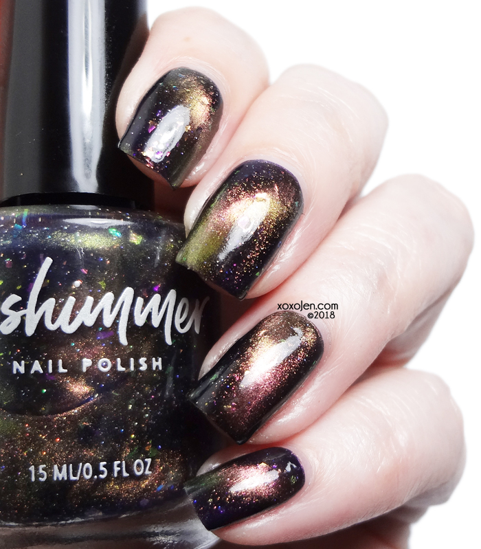 xoxoJen's swatch of kbshimmer Creep It Together
