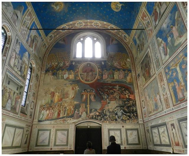 Onde ficar em Padova, a cidade da Cappella degli Scrovegni ou capela do Giotto?