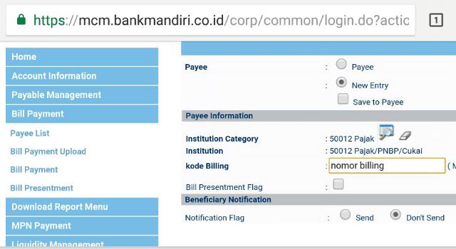 Mengatasi gagal pembayaran Billing ID - Berbagi73