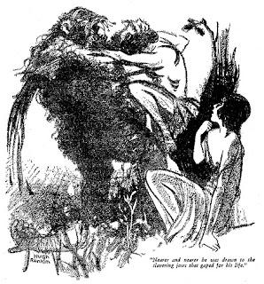 Arnyak a holdfényben rajz Hugh Rankin –tól
